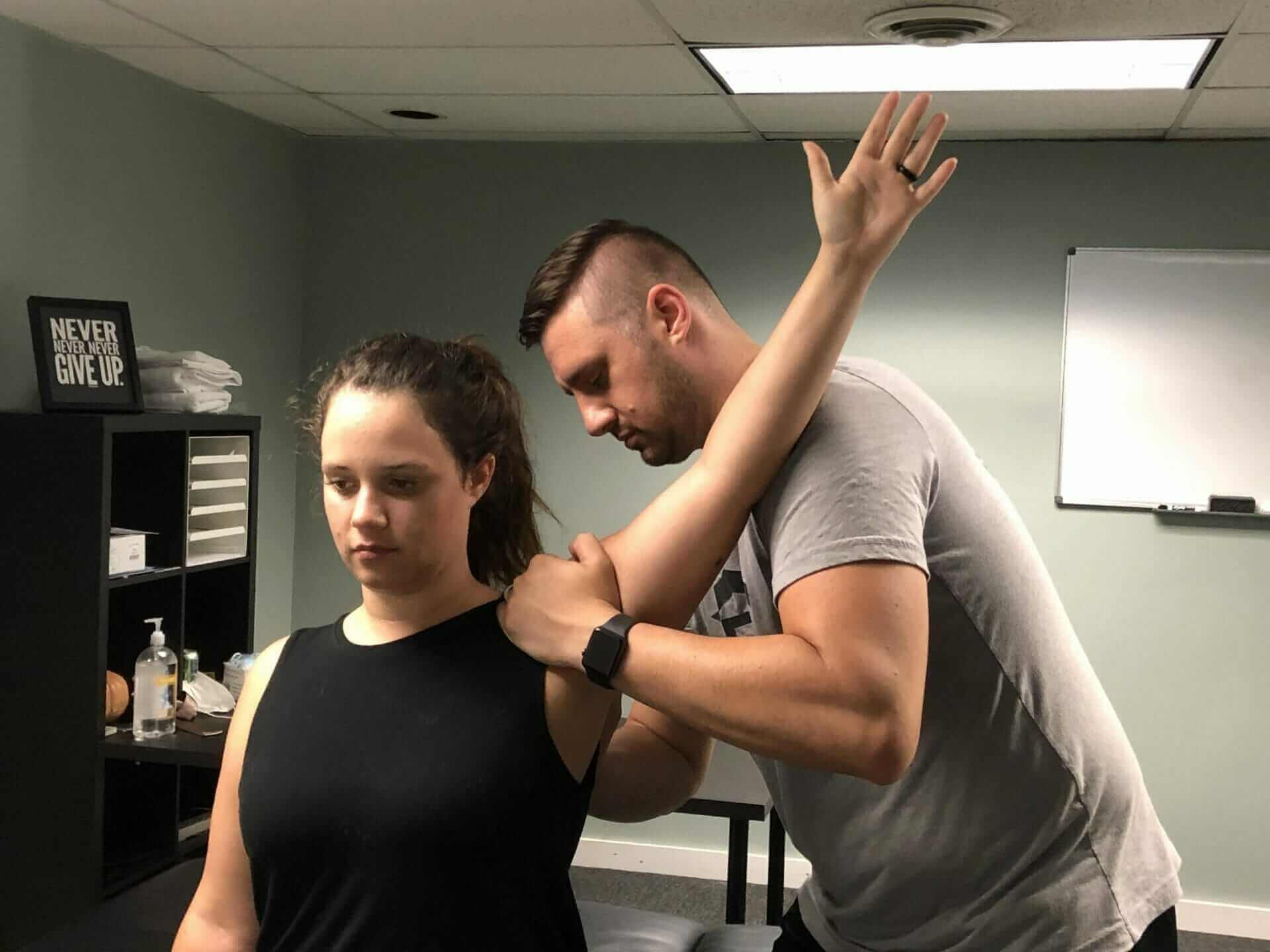 Mobilization for rotator cuff pain and shoulder pain relief, physical therapy in lancaster, ohio
